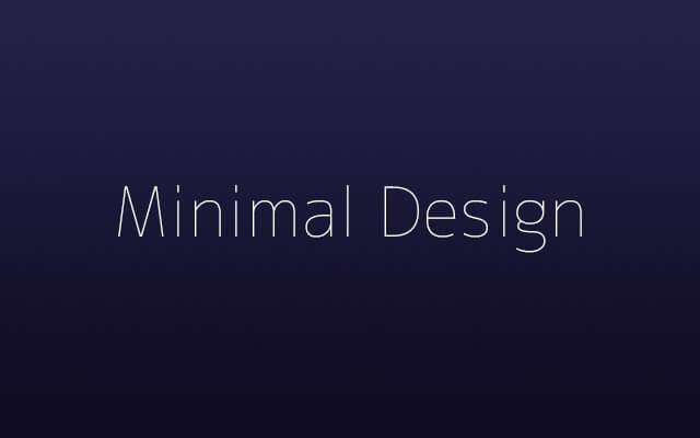 main-minimal